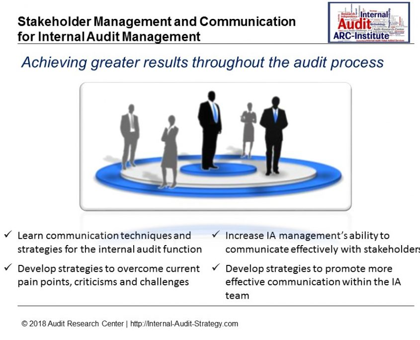 Stakeholder Management and Communication for Internal Audit